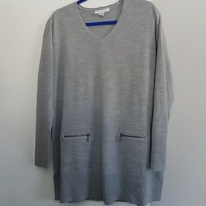 Zip Pocket Sweater